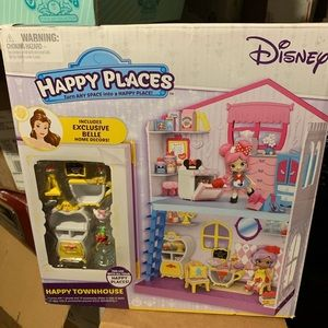 Disney Happy Places Belle Happy Townhouse NWT